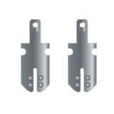 AMP schuif faston 2,8 mm