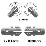 noodverlichting AMP faston LF09