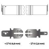 noodverlichting AMP faston LF10