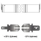 noodverlichting AMP faston LF11
