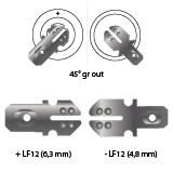 noodverlichting AMP faston LF12