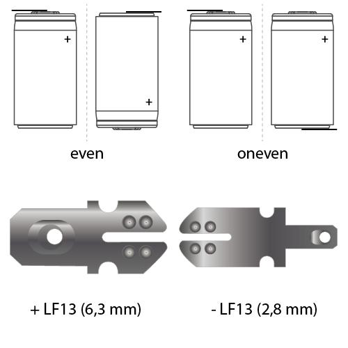 noodverlichting faston LF13