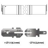 noodverlichting AMP faston LF13
