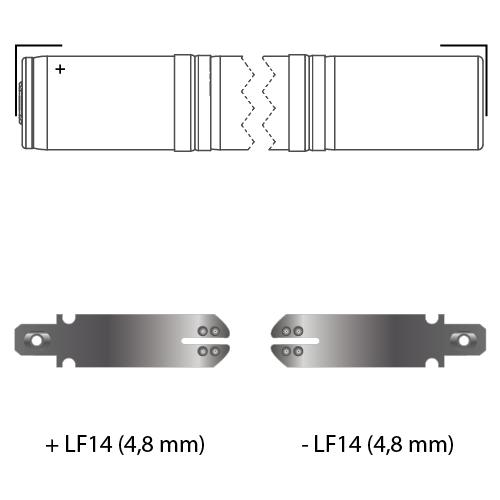 noodverlichting faston LF14