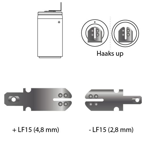 noodverlichting faston LF15
