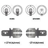 noodverlichting AMP faston LF16