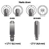 noodverlichting AMP faston LF17