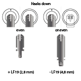 noodverlichting AMP faston LF19