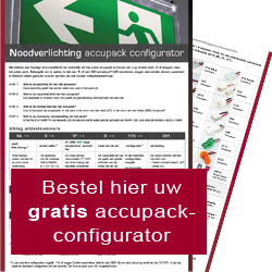 noodverlichting accupack configurator